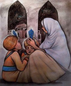 #SikhNet Let us close our eyes for a moment. It's December. We are probably wearing something warm. Our mom has taken out the big thick blankets for winter time. Now lets think about the Sahibzadey. They're sitting in Thanda Burj with our grandmother, Mata Gujri Ji. The cold wind is blowing and there's nothing protecting them from the elements. But, their faces glow as Mata Ji tells them sakhian about our grandfather, Guru Tegh Bahadur Ji.