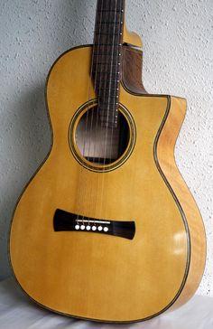 2010 Brondel Model B-3 can guitar. Guitar Database. body