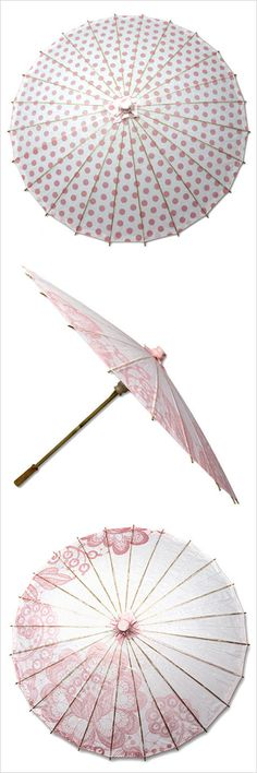 Accessorize your ladies with these pretty parasols! Parisol instead of flowers? Shop: Parasols by Design http://www.parasolsbydesign.com/