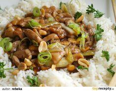 Kuřecí kung pao z letáku Albert Slovak Recipes, Czech Recipes, Asian Recipes, Keto Recipes, Cooking Recipes, Ethnic Recipes, Thing 1, No Cook Meals, Food Videos