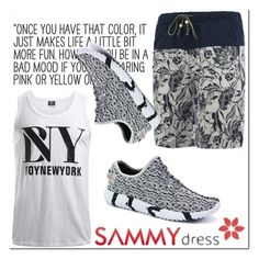 """Summer"" by mini-kitty ❤ liked on Polyvore featuring men's fashion and menswear"