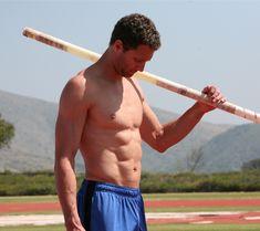 Brad Walker, US Olympic pole vaulter,