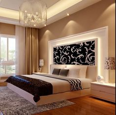 Ceiling design bedroom - New Step by Step Roadmap for Discover the Ultimate Master Bedroom Styles homedecorsdesign Bedroom False Ceiling Design, Luxury Bedroom Design, Bedroom Furniture Design, Home Room Design, Master Bedroom Design, Home Decor Bedroom, Bedroom Ideas, Master Suite, Bedroom Designs
