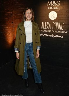 Fashionista: Alexa's collection includes 31 pieces of clothing, which are Alexa's take on looks from the Marks and Spencer archive