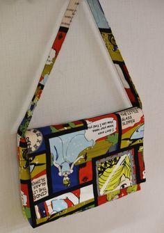 Shoulder bag tutorial and pattern : Kokka