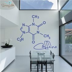 Party Molecules - 1 Large - Vinyl Wall Decal.