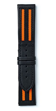 Maurice de Mauriac, Nato Strap integrated into a leather Strap.