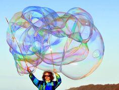 Riesenseifenblasen,Seifenblasen,Bubbles,Rezepte, Anleitungen, Herstellung, Kaufen, Fotos