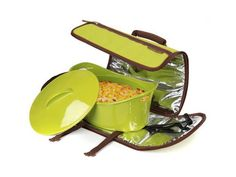 Food carrier that's perfect for pot lucks via ivillage