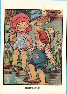 Postcard Dolly Dingle,. By Grace Wiedersheim Drayton