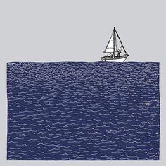 Going sailing print