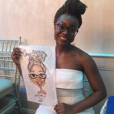 ...This beauty at a sweet sixteen over the weekend! #NYSKETCHES
