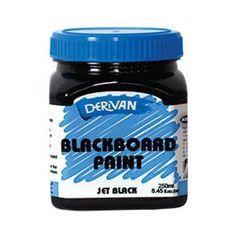 Art Shed Online - Derivan Blackboard / Chalkboard Paint - Jet Black… Blackboard Paint, Chalkboard, School Art Supplies, Craft Supplies, Discount Art Supplies, Art Shed, Oil Painting Supplies, Art And Craft Materials, Little Boy Blue