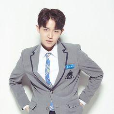"""Kim Jae Hwan (김재환)"" is a South Korean singer under YMC Entertainment. He was in the Semi-finals in Korea's Got Talent 2 in In 2017 he survived Mnet's Ong Seongwoo, Lee Daehwi, Produce 101 Season 2, Kim Jaehwan, Kpop, Jinyoung, Korean Singer, Chanyeol, Suit Jacket"