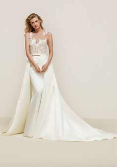PRONOVIAS DRANOE Mermaid Wedding Dress