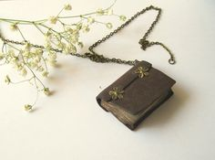 Little book necklace!