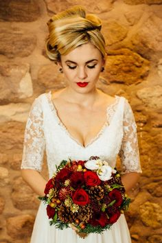 A Glamorous Winter Styled Shoot at Heaton House Farm