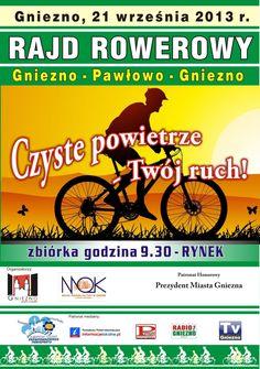 An event for all bikers! / Zapraszamy na rajd rowerowy!