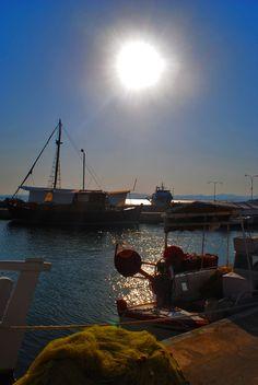 Limnos greek island, moudros village