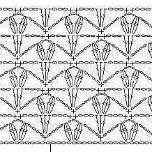 Crochet Tablecloth Pattern, Crochet Motif Patterns, Granny Square Crochet Pattern, Crochet Diagram, Crochet Chart, Stitch Patterns, Knitting Patterns, Crotchet Stitches, Crochet Shell Stitch