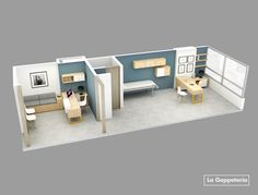 Consultorios médicos Clinic Interior Design, Clinic Design, Healthcare Design, Office Space Design, Dental Office Design, Schönheitssalon Design, Waiting Room Design, Medical Office Decor, Cabinet Medical