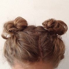 Pigtail Buns   10 Hairstyles That'll Hold Up Through a Festival   Bustle