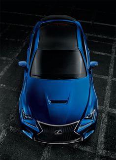 Lexus RC F : Le nouveau coupé haute performance de Lexus.