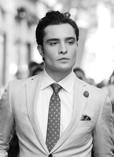 Ed Westwick as himself or Chuck Bass? wantering.com