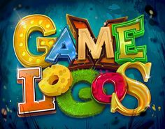 """Check out this @Behance project: """"Game Logos"""" https://www.behance.net/gallery/63411113/Game-Logos"""