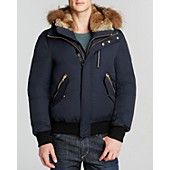 Mackage Dixon Peach Lux Jacket with Fur