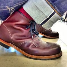Burgundy beckman 9011 and the flat head jeans..