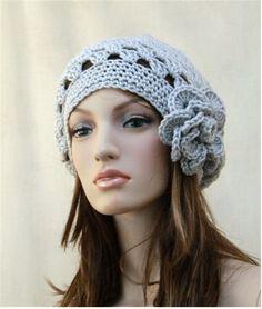 Summer Crochet Hat Crochet  Beret  Slouch by endlesscreation, $25.95