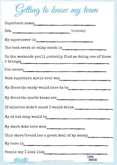free printable for getting to know your office coworkers employee engagement gift and bonus ideas Encourage office team work culture Employee Morale, Staff Morale, Teacher Morale, Team Morale, Employee Appreciation Gifts, Volunteer Appreciation, Employee Gifts, Volunteer Gifts, Morale Boosters