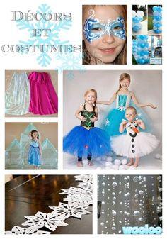 Top 25 d'idées inspirantes pour une fête sous le thème de la Reine des Neiges