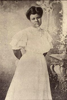 2.  Entrepreneurial Female Icon  Madam C.J. Walker: Daughter of slaves, she was the first woman to become a millionaire on her own achievements.  (She successfully developed and marketed a line of beauty and haircare products for black women.)   #modcloth  #makeitwork