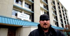 The Magnuson Hotel in Lansing, Michigan is known as the 'Homeless Hotel' now that it houses 147 beds for the homeless. Mike Karl is hoping to end homelessness with this facility.