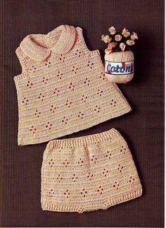 Топ и шорты для малышки - Костюм.Комплект - Вязание для детей -МАСТЕР-КЛАССЫ ПО РУКОДЕЛИЮ- Страна рукоделия