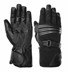 Vance Leathers Mens Premium Padded Gauntlet Motorcycle Gloves  Black  M For Sale https://motorcyclejacketsusa.info/vance-leathers-mens-premium-padded-gauntlet-motorcycle-gloves-black-m-for-sale/