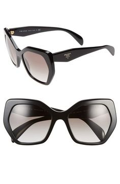 Prada 'Heritage' 56mm Sunglasses available at #Nordstrom