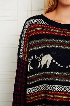 BDG Racoons Jumper at Urban Outfitters
