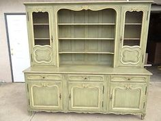 antique French breakfront