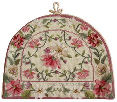 Needlepoint Cottage Roses - this is Great!