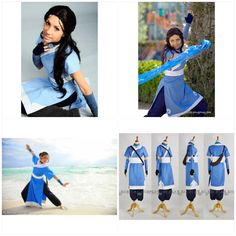 Katara cosplay atla