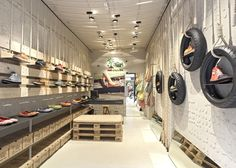 Retail Design | Footware | SoleRebels shoe shop interior by Dom Arquitectura and Asa Studio
