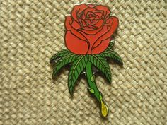 Hey, I found this really awesome Etsy listing at https://www.etsy.com/listing/231765242/rare-ganja-rose-pin-free-shipping