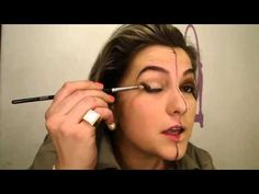 Maquiagem Passo a Passo - Antes e Depois da Maquiagem.