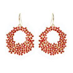 Amrita Singh | Rose Garden Earring - Fashion Jewelry Earrings - Indian Earrings