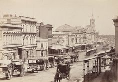 Swanston Street, Melbourne, 1872. | 44 Rare Photos Reveal How Much Australia Has Changed