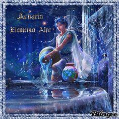 Acuario   Elemento  Aire --- Aquarium Air Element