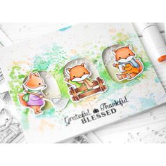 https://flic.kr/p/WfoYtx | Grateful Thankful Blessed | I figured out the weather. It's not summer, it's autumn. That inspired me to create autumn card 😊 Actually, I wanted to attach the fox here, it's so cute 😍 And I dream about monkey to buy, it's cute too. Now I want to relax from interactive marathon, I'm tired of it. And this card is the most simple thing that I can do ♀️😆  #znatka2007 #znatka2007cards #ShinHanArt #touchmarker #touchtwinbrushmarkers #touchmarker #снежнобелоефото…